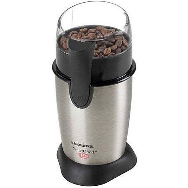Black & Decker CBG100S Stainless Steel Coffee Grinder