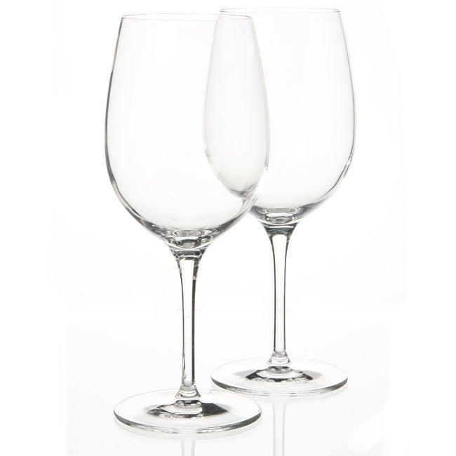Luigi Bormioli SON.hyx Crystal Palace 16.25-ounce Wine Glasses (Set of 6)