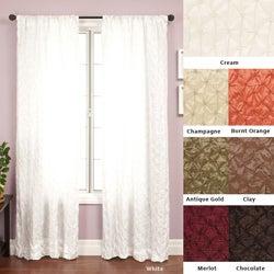 Zanzibar Rod Pocket 84-inch Curtain Panel