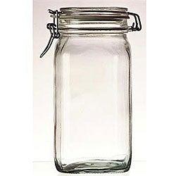 Bormioli Rocco 1.5-liter Italian Fido Glass Canning Jars (Set of 6)