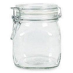 Bormioli Rocco 0.5-liter Fido Glass Canning Jars (Pack of 3)