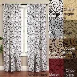 Seville Rod Pocket 120-inch Curtain Panel