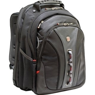 Swissgear Legacy Backpack. Fits up to 15.6in Laptop, Black, Checkpoin