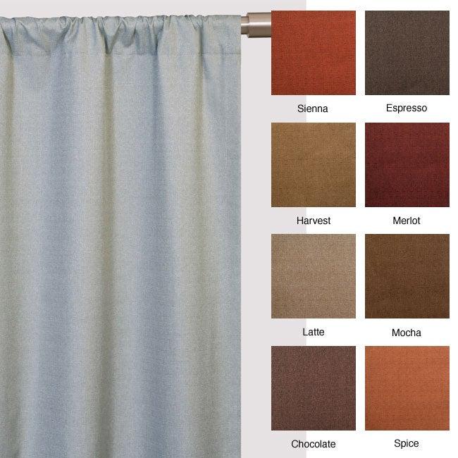 Trilogy Rod Pocket 96-inch Curtain Panel