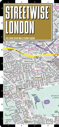Streetwise London: City Center Street Map of London, England (Sheet map, folded)