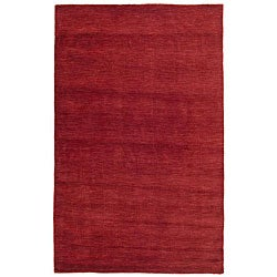 Red Fusion Wool Rug (8' x 10')