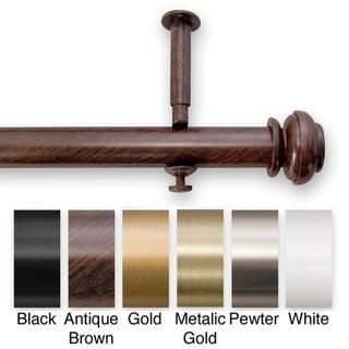 Bold Pole 90 to 144-inch Adjustable Curtain Rod Set