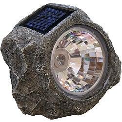 Tricod Stone-shaped Solar Spotlight