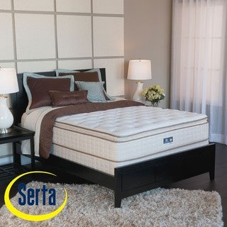 Serta Bristol Way Pillowtop King-size Mattress and Box Spring Set