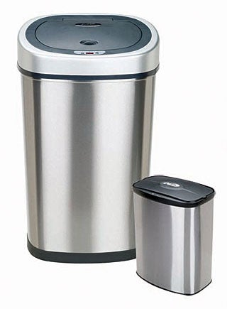 Motion Sensor 2-in-1 Combo Unit Bathroom/ Kitchen Trash Can