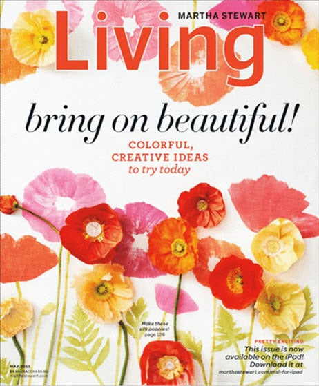 Martha Stewart Living, 12 issues for 1 year(s)