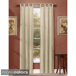 Ridgedale Thermal Backed Tab Top Curtain Panel Pair