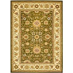 Safavieh Lyndhurst Collection Majestic Sage/ Ivory Rug (5'3 x 7'6)