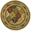 Safavieh Lyndhurst Collection Multicolor/ Ivory Rug (8' Round)