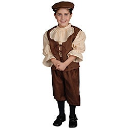 Traditional Colonial Boy Costume