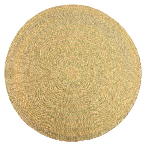 Brookline Taupe Indoor/ Outdoor Braided Rug (8' Round)