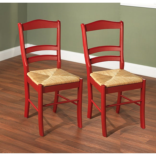 Simple Living Paloma Dining Chairs Set Of 2 Overstock