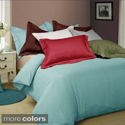 Egyptian Cotton 600 Thread Count Oversized 3-piece Duvet Cover Set