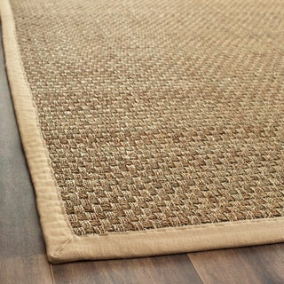 "Safavieh Casual Handwoven Sisal Natural/Beige Seagrass Runner (2'6"" x 12')"