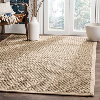Safavieh Hand-woven Sisal Natural/ Beige Seagrass Rug (8' x 10')