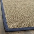 Safavieh Hand-woven Sisal Natural/ Blue Seagrass Area Rug (3' x 5')