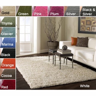 Alexa 'My Soft and Plush' Shag Rug (8' x 10')