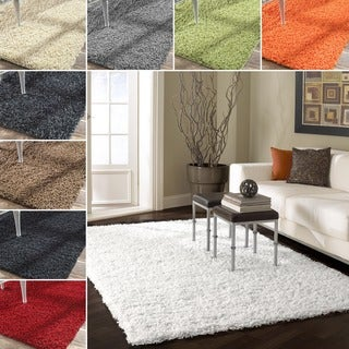 nuLOOM Alexa 'My Soft and Plush' Shag Rug (8' x 10')