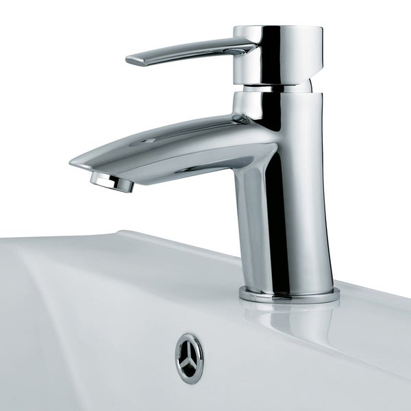 Single Lever Chrome Finish Faucet