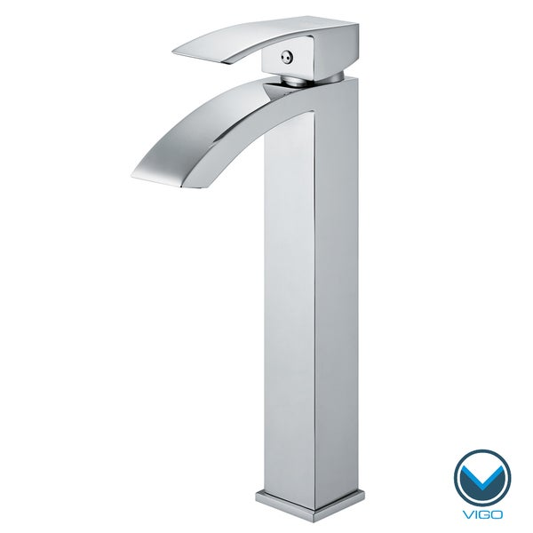 VIGO Chrome Finish Bathroom Vessel Faucet