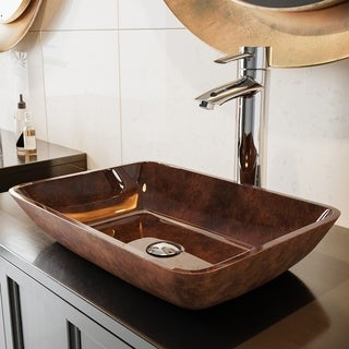 Chrome Finish Bathroom Vessel Faucet