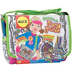 Alex Toys 'Color a Pony' Purse Kit