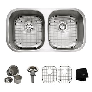 Kraus 32-inch Undermount Steel 16-gauge Kitchen Sink