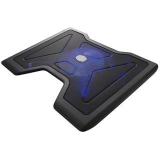 Cooler Master Notepal X2 - Laptop Cooling Pad with 140mm Fan Blue LED Light