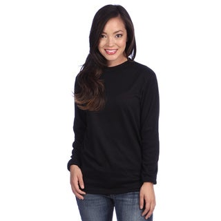 Poly Midweight Women's Thermal Crew Top