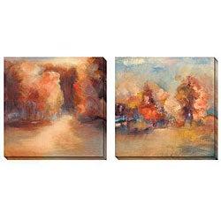 Caroline Ashton 'Daydream' Oversized Canvas Art Set