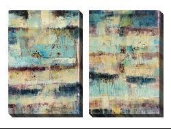 Jane Bellows 'Primary' Oversized Canvas Art Set