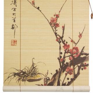 Sakura Blossom 48-inch Bamboo Blind (China)