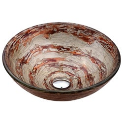 Kraus Ares Glass 12-mm Thick Vessel Sink