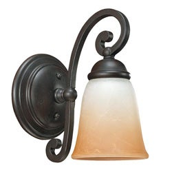 Brandywine One-light Bronze Wall Sconce