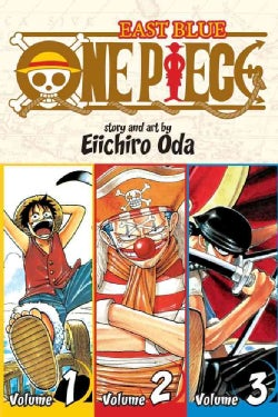 One Piece 1: East Blue 1-2-3 Omnibus (Paperback)