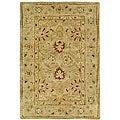Safavieh Handmade Majesty Light Brown/ Beige Wool Rug (2' x 3')