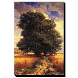 A. Calame 'Oak Tree' Canvas Art