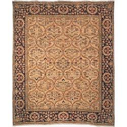 Heirloom Hand-knotted Treasures Kerman Wool Rug (4' x 6')