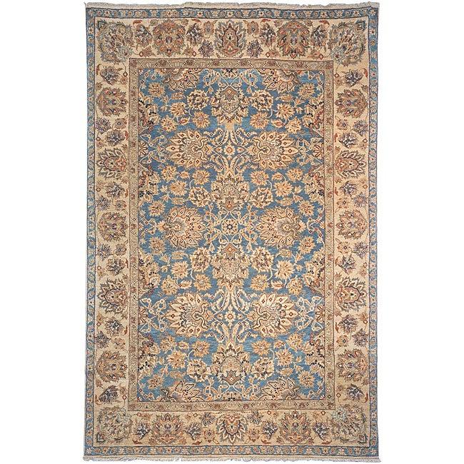 Heirloom Hand-knotted 'Treasures' Wool Rug (6' x 9')