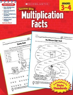 Scholastic Success With Multiplication Facts, Grades 3-4 (Paperback)