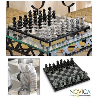 'Sophisticate' Marble Chess Set (Mexico)