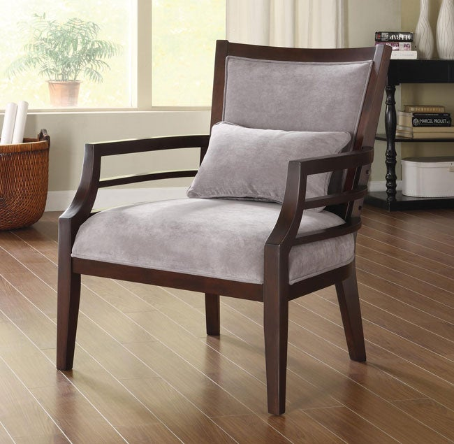 Philly Framed Chair Grey