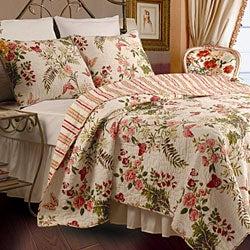 Butterflies 3-piece King-size Quilt Set