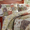 Greenland Home Fashions Blooming Prairie King-size 3-piece Bedspread Set