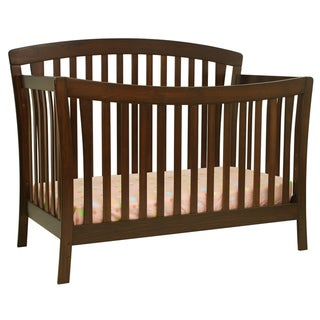 DaVinci Rivington 4-in-1 Crib with Toddler Rail in Coffee